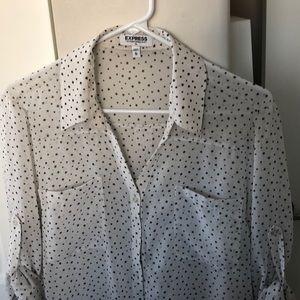 Star-pattern Portofino Shirt